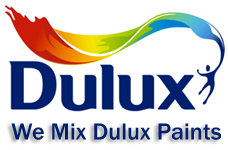 We mix Dulux Paints
