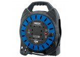 230V Four Socket Cable Reel (15M)