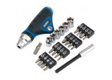 Ratcheting Screwdriver Socket and Bit Set. (25 piece)