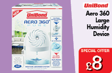 Aero 360 Moisture Absorber Large – Now Only £8.00