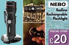 Nebo Redline Magdock 320 Light Black – Now Only £20.00