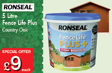 Fence Life Plus 5L  -  – Now Only £9.00