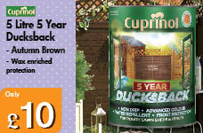 5 Litre Ducksback -  – Now Only £10.00