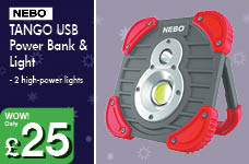 TANGO USB Power Bank  – Now Only £25.00