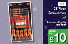 29 pce Screwdriver Set – Now Only £10.00